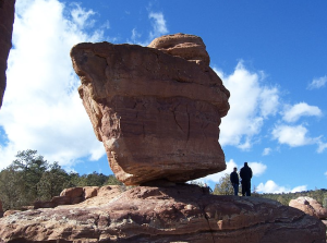 (Photo-Credit-Wiki_Balanced Rock stands in Garden of the Gods park in Colorado Springs, CO.