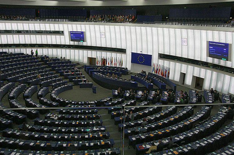 The European Parliament in debate (Wiki)