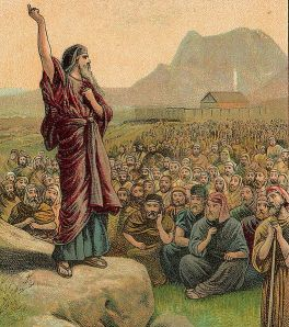 (Photo Credit: Wiki) Moses_Pleading_with_Israel_