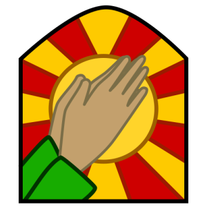 (Photo Credit: Wiki)_Praising-hands