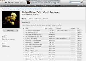 weekly sermons_itunes