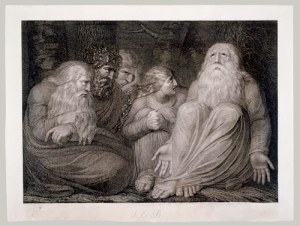 Job's Tormentors - By Blake (1793)